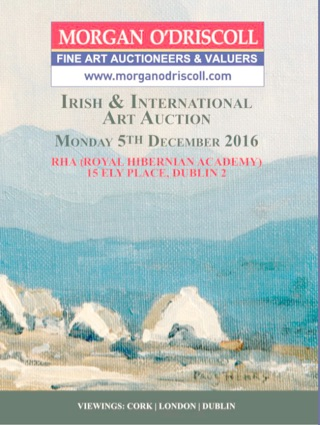 Morgan O'Driscoll Auction